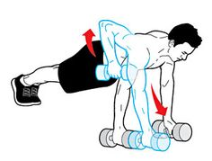 15-Minute Workout: Drill to Your Core - Renegade Crawl | Fitbie