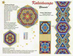 Схемы мозаичных браслетов, очень много / Схемы / Бусинка