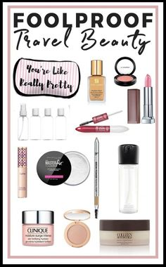 My ultimate guide to foolproof travel beauty. When three out of the four weeks of every month are spent living out of a suitcase, you learn what works for your beauty routine. I don't believe in spending hours getting ready. Everyday Beauty Routine, Skin Care Routine For 20s, Beauty Routines, Skincare Routine, Skin Routine, Natural Beauty Tips, Diy Beauty, Beauty Style, Organic Beauty