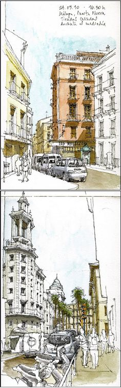 Luis Ruiz Padrón #urban #sketch #travel #journal https://www.flickr.com/people/luis_ruiz/