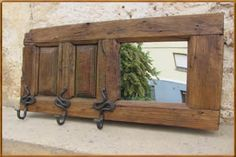 ventanas de madera RECICLADAS - Buscar con Google Barbacoa, Entryway Tables, Doors, Mirror, Working Class, Google, Furniture, Home Decor, Gardens