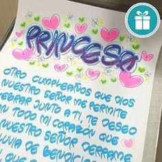 Desliza para ver el final ➡➡➡ Si te gusta comenta este emoji 😍😍😍😍😍😍 . Cartel de cumpleaños personalizado, pedidos con 3 dias de anticipación!! . . . #amoroso #regalos #amorosoregalos #amor #love #teamo #felizcumple #felizcumpleaños #cumpleaños #carteleras #cartel #carteles #letra #timoteo #letrasbonitas #letratimoteo #talleresamoroso #aprender #marcadores #posterman #artline #sabaneta #itagui #envigado #medellin #bello #caldas #colombia Lettering Guide, Bullet Journal School, Bff, Diy And Crafts, Letters, Gifts, Emoji, Memes, Ideas