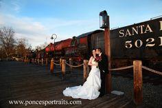 Delta King Wedding Venue, Sacramento bride and groom wedding formals by Ponce's Portraits, Old Sacramento