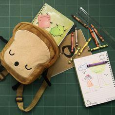 Mochila para los niños de Sr. Rebanadita de Pan. 20x20cm tela térmica. de venta acá en Kichink! http://bit.ly/1jMaMk9