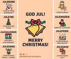 Advent, Norway Language, Merry Christmas, Languages, Culture, Idioms, Merry Little Christmas, Wish You Merry Christmas