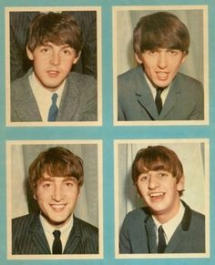 I had a set of Beatles cards.  They were confiscated by a nun when I brought them to school.
