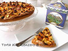 Deliziosa torta allo zenzero da perfetta da gustare nel tea time. Pie, Desserts, Food, Torte, Tailgate Desserts, Cake, Deserts, Fruit Cakes, Essen