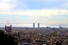 Vista da #ParcGuell, #Barcellona