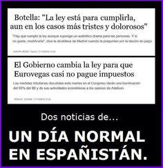 No Soy Del PP (@elpadrecorajede) twitteó a las 6:55 p.m. on mié, sep 25, 2013: La doble cara de este gobierno CorruPPto #corrupcion #politica #politicos  #pp #PartidoPopular #crisis
