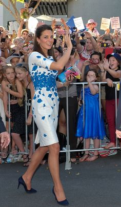 Katalin hercegnő ismét régi ruhában tündökölt
