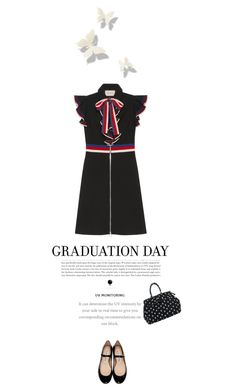 """""""graduation day"""" by paperdollsq ❤ liked on Polyvore featuring Gucci, Acne Studios, Behance and Graduation"""