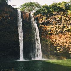 Hawaii USA waterfall.   IG: NeoNorth   #hawaii #waterfall #hike #hiking #backpacking #photography  #landscape #landscapephotography #travelblogger #travel #travelblog #travelblogger #traveltips #passionpassport #traveldeeper #traveltheworld #instatravel  #instagram #travellife #livefolk #photooftheday #vacation #gypsy #wanderlust #igtravel #passportready #travelgram #nakedplanet #travelprimeshot #gopro   #travelpics #digitalnomad