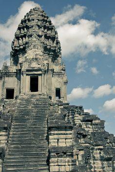 angkor wat, siem reap, cambodia   buddhist temple