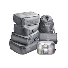 f Oil Painting 3 Set Packing Cubes,2 Various Sizes Travel Luggage Packing Organizers