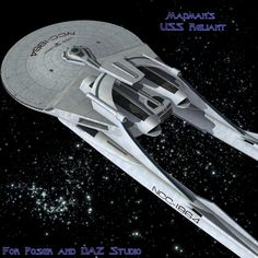 Page Loknar-class scratchbuild Sci-Fi and Fantasy Spaceship Art, Spaceship Design, Spaceship Concept, Star Trek Models, Sci Fi Models, Star Trek Starships, Star Trek Enterprise, Star Trek Tos, Star Wars