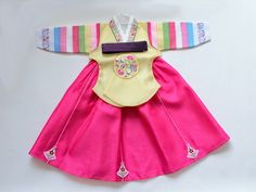 Girl's Hanbok (Yellow) – jazzberrymom
