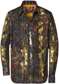 Robert Graham - The Doblin Tight Shirts, Tee Shirts, Robert Graham, Mode Masculine, Long Shorts, Business Casual, Tom Ford, Style Me, Fashion Inspiration