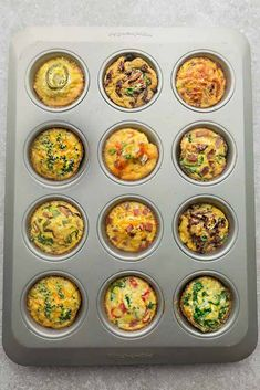 Keto Egg Cups – 9 Delicious & Easy Low Carb Breakfast Recipes 9 Low Carb Breakfast Egg Muffin Cups are packed with protein and perfect for busy mornings, weekend or holiday brunch. Best of all, so easy make-ahead breakfast for on the go. Zucchini Muffins, Spinach Egg Muffins, Muffins Blueberry, Breakfast Egg Muffins Cups, Low Carb Egg Muffins, Egg Muffin Cups, Muffin Tins, Breakfast Cereal, Breakfast Casserole