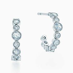 More Information Small Round Diamond Hoop Earrings