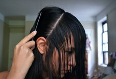 The step I need to remember for cutting my own bangs.    Source: All The Good Girls Go To Heaven: ☩DIY☩ Bang[s]!