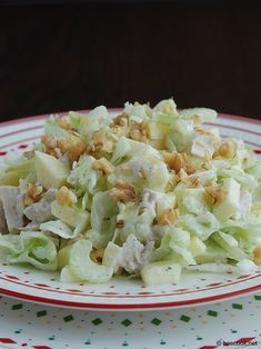 Рецепт: Салат с сельдереем и куриной грудкой