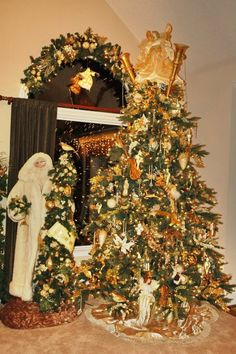 This was my old tree. I created the window treatments by purchasing a huge wreath, cutting it in half and adding lights and decorations. Another Father Christmas by Ditz designs. This one is Peace on Earth. Christmas Windows, Christmas Trees, Christmas Decorations, Holiday Decor, Peace On Earth, Father Christmas, Window Treatments, Wreaths, Lights