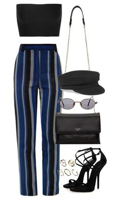 """Untitled #3328"" by camilae97 ❤ liked on Polyvore featuring Calvin Klein Collection, Proenza Schouler, Lanvin, Jean-Paul Gaultier, Étoile Isabel Marant and ASOS"