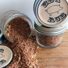 Tell your dad to save this rub for his next big BBQ (because you'll definitely be coming).