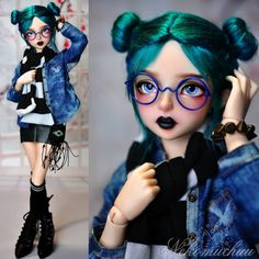 I collected and customized anime dolls(like azones) for almost 6 years. Now I am mostly interest in bjds. The bjd gals are so realistic and have such a. Ooak Dolls, Blythe Dolls, Barbie Dolls, Custom Monster High Dolls, Custom Dolls, Pretty Dolls, Beautiful Dolls, Kawaii Doll, Dream Doll