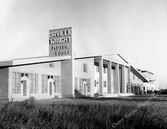 Orville Wright Motor Lodge, Kill Devil Hills, ca. 1950s. Aycock Brown Collection by Outer Banks History Center, via Flickr