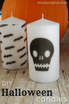 17 Awesome DIY Halloween Candles And Candleholders