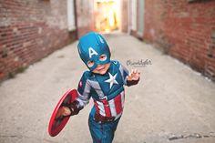 Superhero Photo Session - Bloomington IL Photographer
