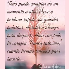 Time To Live, Spiritual Messages, Love Life Quotes, Spanish Quotes, Some Words, Christian Quotes, Namaste, Sentences, Christianity