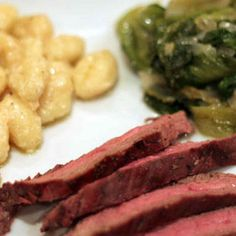 Meat and Gnocchi Meal.