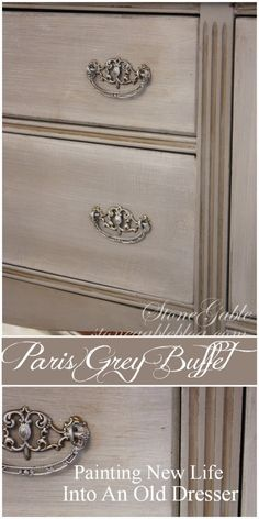 Bringing new life to an old piece of furniture with a paint brush and a little wax is one of my favorite things to do! But what makes transforming furniture with a paintbrush even better is working with my daughter! She and her husband purchased an old buffet on Craig's List and with a little …