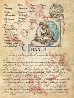 Planetary Magick | Uranus Correspondences