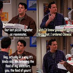 Joey can be so silly!