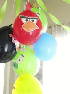 The Wicker House: Angry Birds Birthday Party