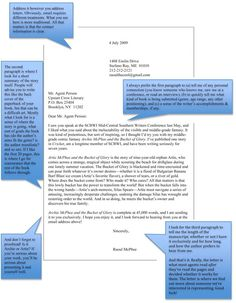 How to Write a Query Letter to Agents