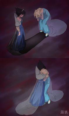 Evil Elsa and Elsa