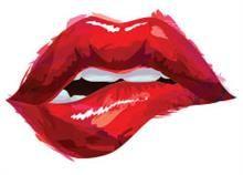 Sexy Lips Painting Box Canvas Print Wall Art - Choice of Sizes x Lips Painting, Painting Art, Lip Wallpaper, Lip Biting, Red Lips, Pink Lips, Painting Inspiration, Watercolor Art, Art Drawings