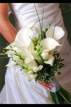Love calla lily bouquets