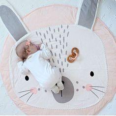 Rabbit Play Mat https://nightynightbaby.com/rabbit-play-mat/ #nightynightbaby #babysleep #baby #babygirl #babyboy #nursery #nurserydecor #babyclothes #babyboutique #babystore #fashionbaby #trendybaby #bebe #bebedorme #kinder #beba #babies