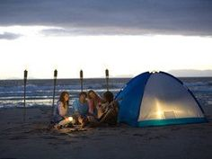 Combine your next camping getaway and beach vacation -- go beach camping! Get Travel Channel's picks for best beach camping.