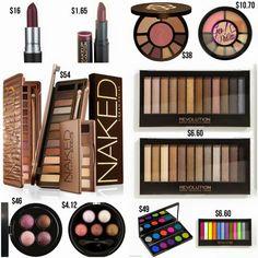Makeup Revolution Dupes