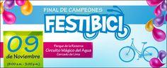 Los mejores colegios competirán en la Gran Final de Campeones Festibici Lima Metropolitana 2012