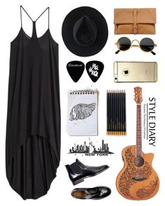"""Big Apple"" by franchesca-29 on Polyvore featuring H&M, Ryan Roche, MM6 Maison Margiela and Sloane Stationery"