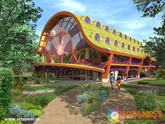 Vitaness Healing and Holistic Healthcare Center in the Netherlands. This project will be build to heal our selfes as human beings and taking care for eachother and our green planet. www.vitaness.nl