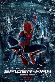 Book Chick City | Reviewing Urban Fantasy, Paranormal Romance & Horror | FRIDAY FILM REVIEW: The Amazing Spider-Man (2012) (click for review)