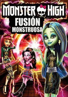 Monster High Fusion Monstruosa online latino 2014 VK